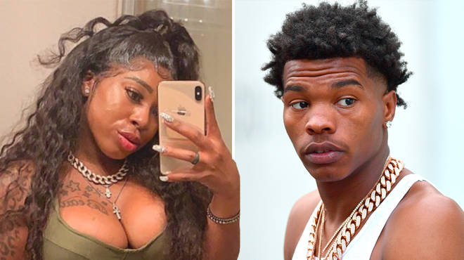Who is Ms London and what allegations has she made about Lil Baby?