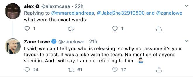 Zane Lowe addresses J.Cole album rumours