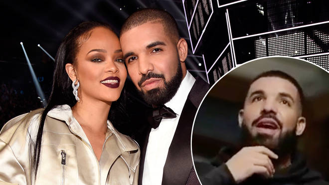 Drake opened up about his rumoured relationship with Rihanna.