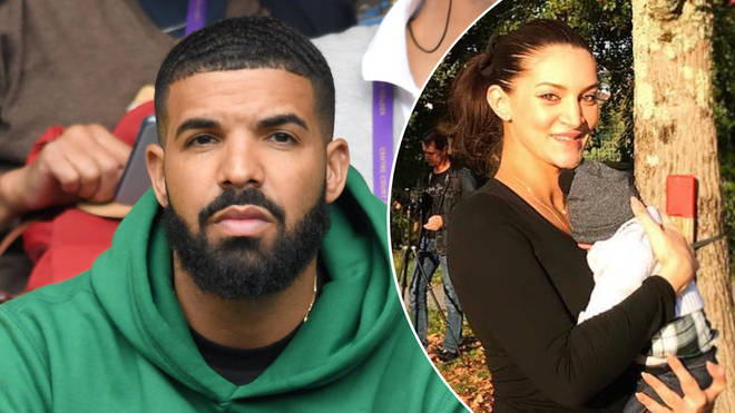 Drake opened up about his relationship with Sophie Brussaux, the mother of his son.