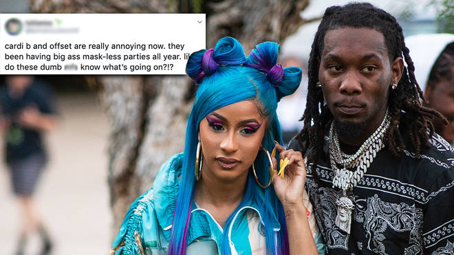 Cardi B slammed over Offset's maskless birthday party amid pandemic