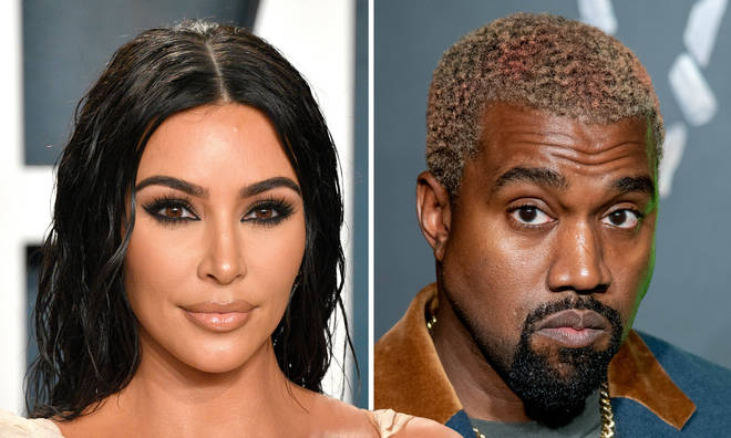 "Kim Kardashian and Kanye West ""spend time apart"" amid divorce rumours"