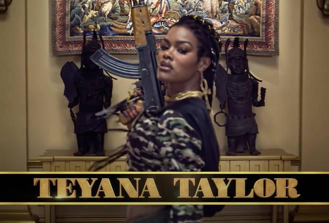 R&B Singer Teyana Taylor stars in 'Coming 2 America'