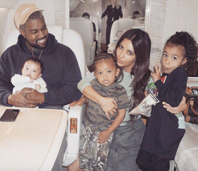 Kim and Kanye already share three children - North, Saint and Chicago.