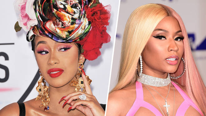 "Cardi B&squot;s team are reportedly ""locked in a battle"" over her new Nicki Minaj-aimed diss."