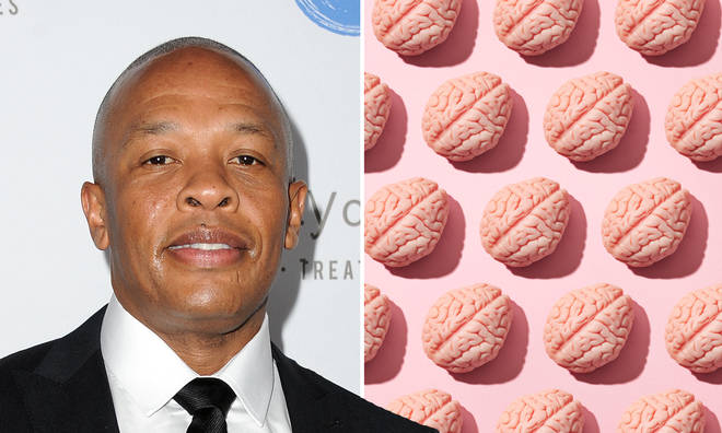 What is a brain aneurysm and what happened to Dr Dre?
