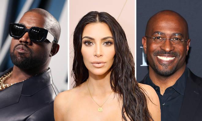Kim Kardashian dating history: from Kanye West to Van Jones