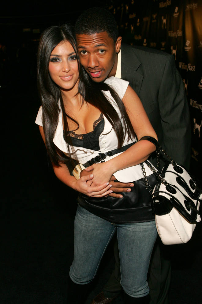 Kim dated Nick Cannon following her split from R&B singer Ray J.