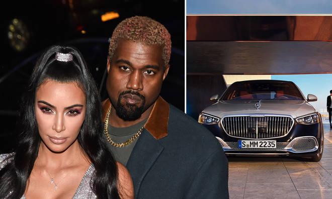 Kanye West gifts Kim Kardashian five Maybachs for Christmas.