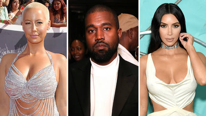 Kanye West dating history: from Amber Rose to Kim Kardashian