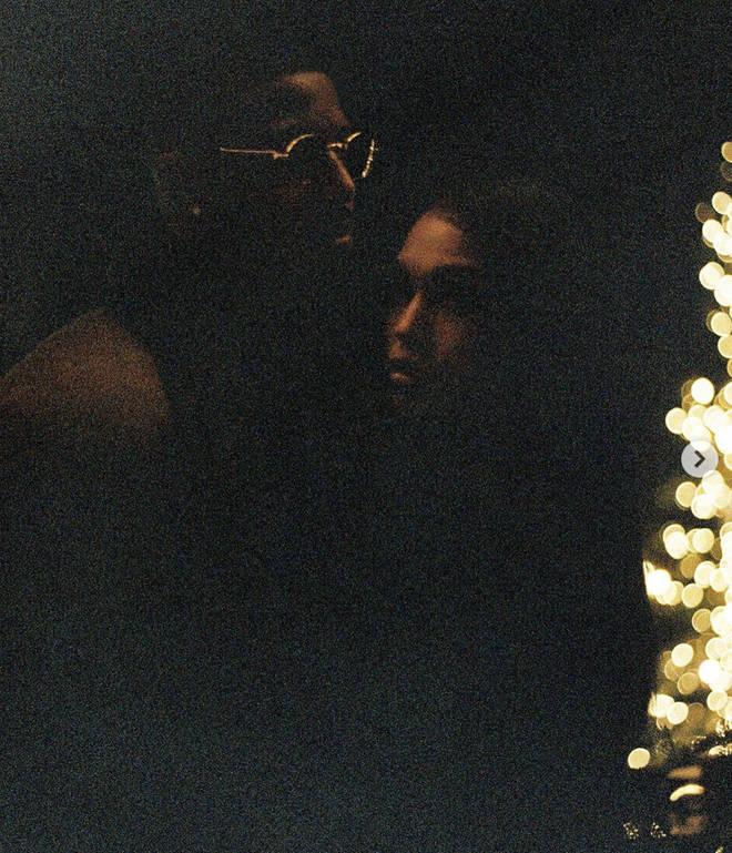 Michael B Jordan shares a sweet photo cuddling Lori Harvey