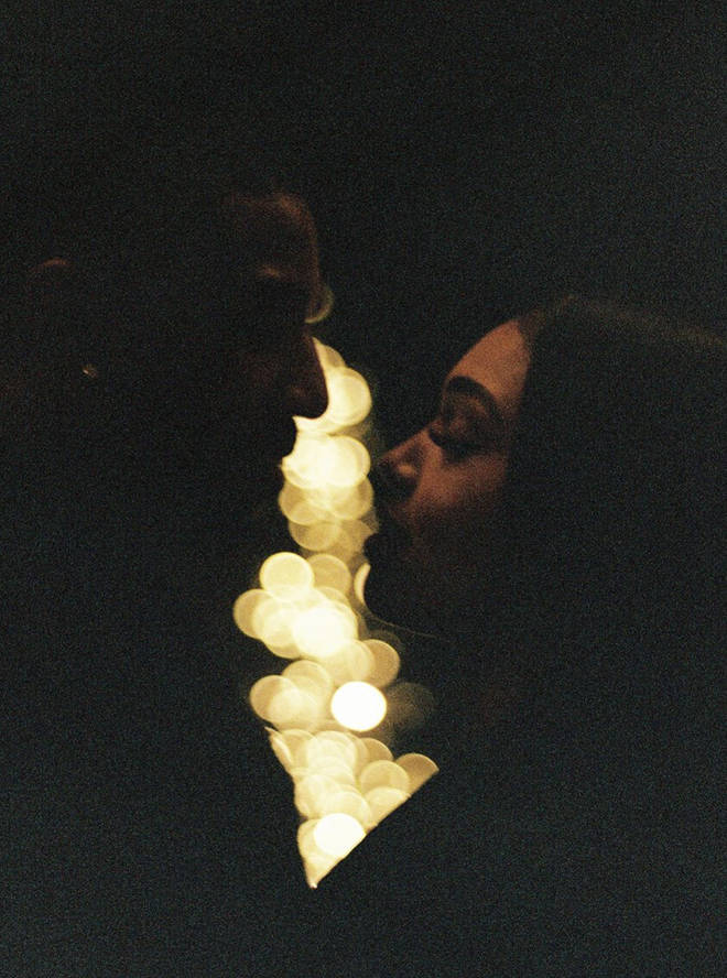The actor, 33, shares another snap of him and his girlfriend Lori Harvey