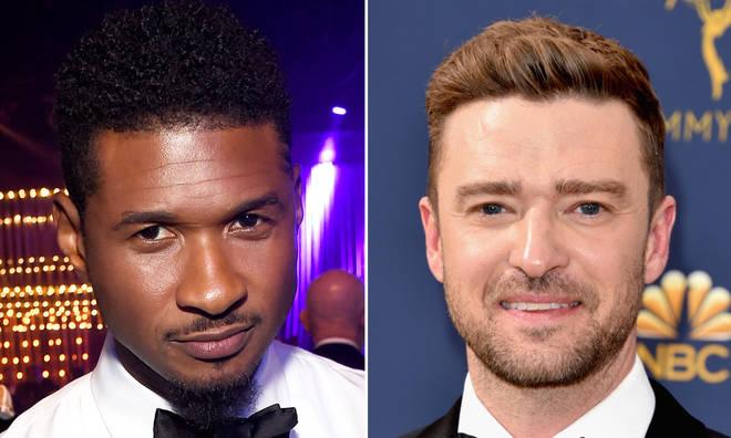 Usher & Justin Timberlake fans debate over Verzuz battle.