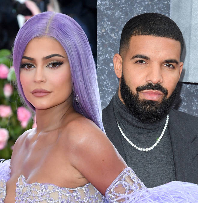 Drake was linked to Kylie after her split with Travis Scott.