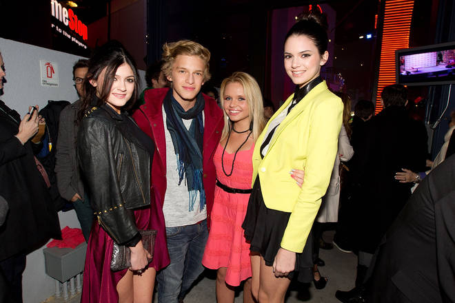 Cody is thought to have been Jenner's first well-known boyfriend.