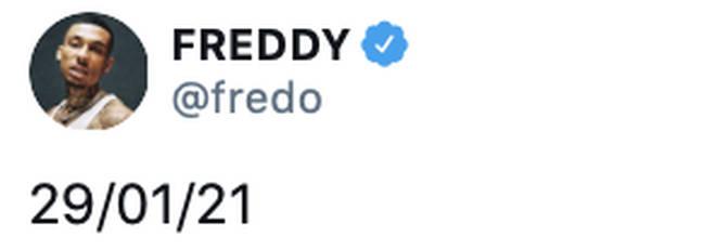 Fredo reveals his new album release date