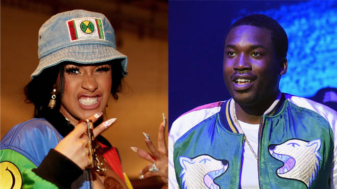 Cardi B and Meek Mill