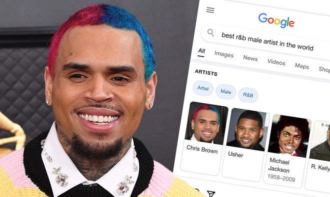"""Chris Brown crowns himself the """"best R&B male artist in the world"""""""