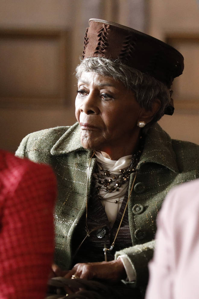 "Cicely Tyson starred in ABC&squot;s series ""How to Get Away with Murder"" with Viola Davis"