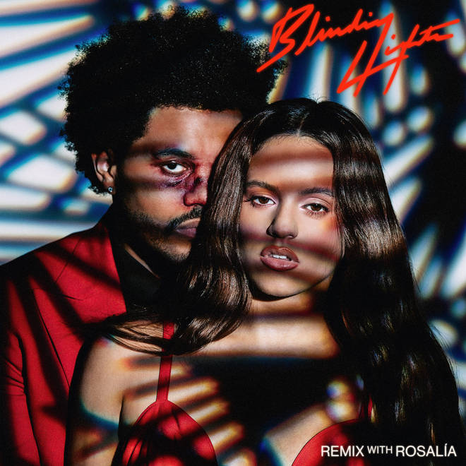 The Weeknd and Rosalía were linked after collaborating on his 'Blinding Lights' remix.