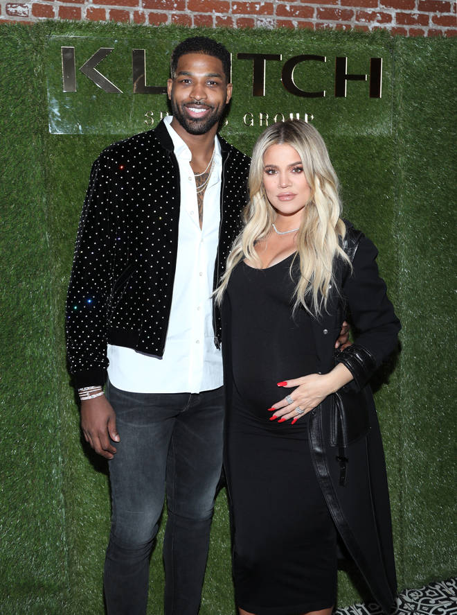 On-off couple Khloe and Tristan welcomed their daughter True in April 2018.