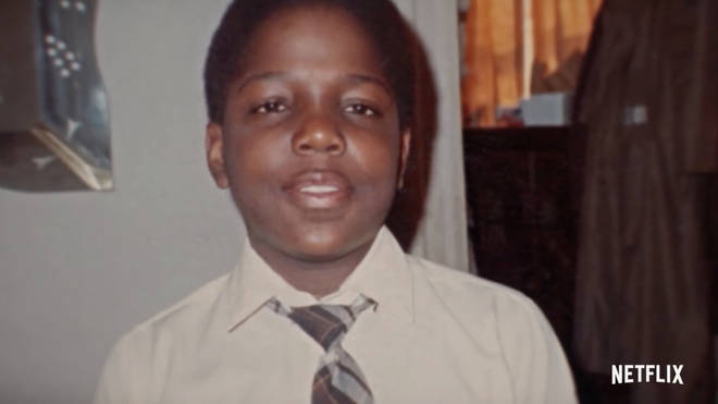 """In the documentary, Biggie&squot;s mother Voletta described her son as """"a very smart kid""""."""