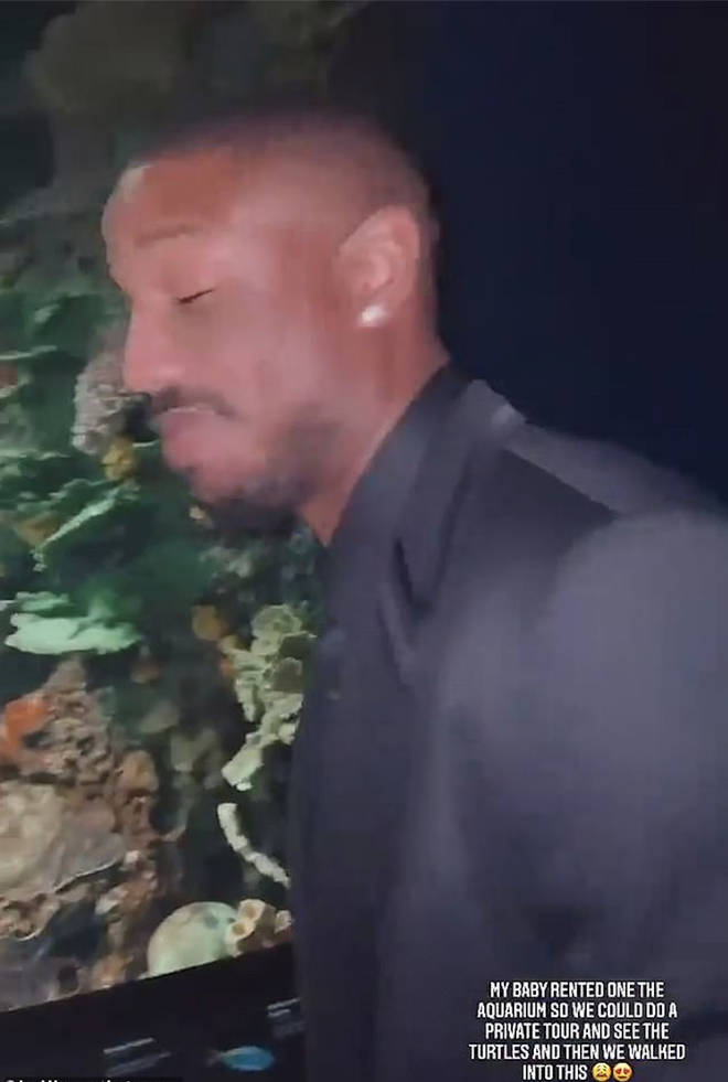 Michael B. Jordan rents out aquarium for Lori Harvey on Valentine's Day