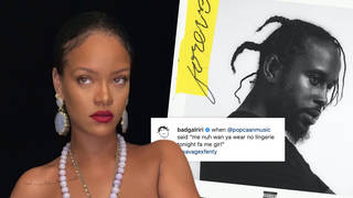 Popcaan 'Naked': song lyrics from Rihanna's lingerie Instagram post explained.