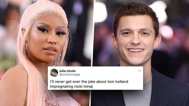 Nicki Minaj and Tom Holland: Viral dating joke explained