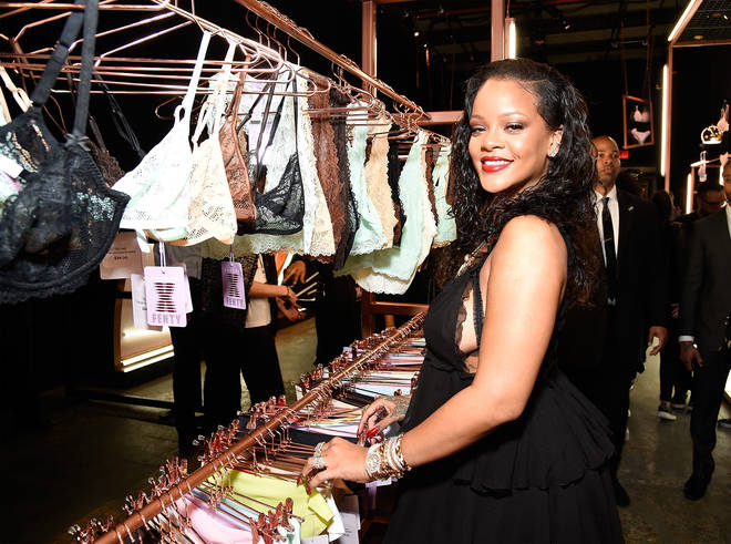 Rihanna launched the global lingerie brand 'Savage X Fenty' in May 2018.