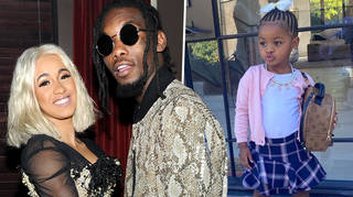 How old is Cardi B and Offset's daughter?