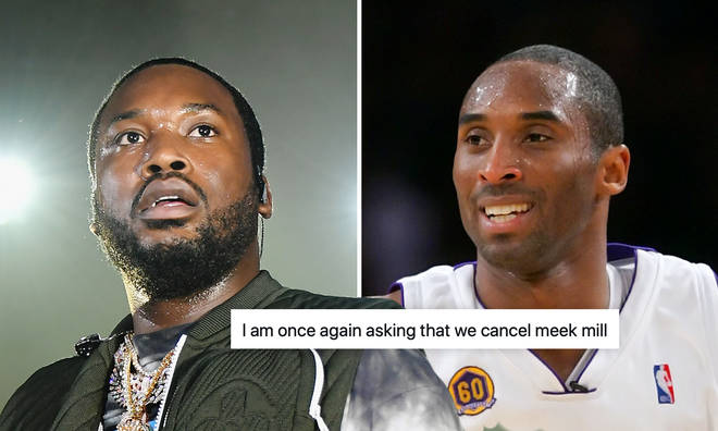 Meek Mill slammed over controversial Kobe Bryant helicopter lyric.