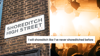 Nightclub reopening announcement sparks hilarious Shoreditch memes.