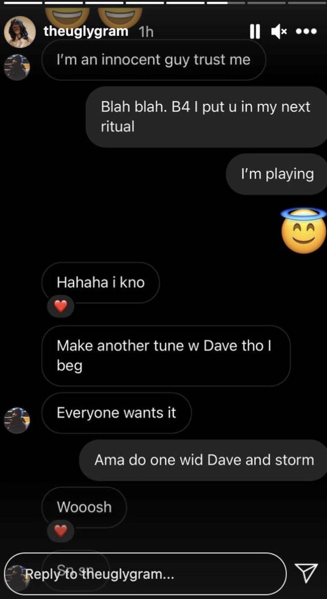 J Hus hints at potential collaboration with Dave and Stormzy
