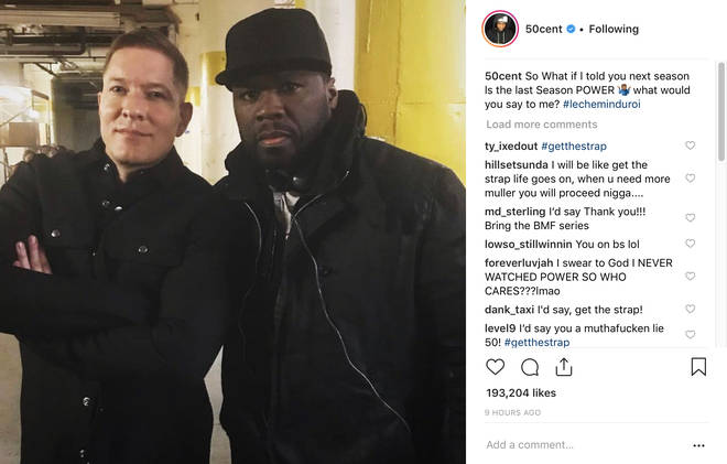 50 Cent and Joseph Sikora
