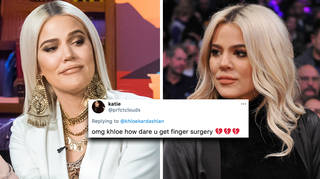Khloe Kardashian responds to bizarre 'body-stretching' surgery claims