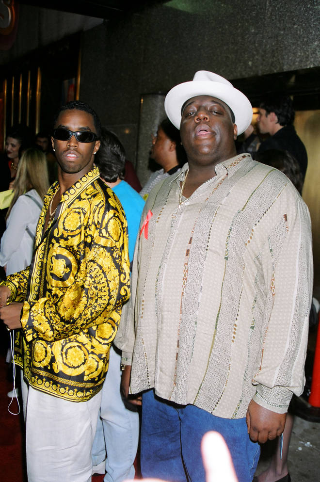 Diddy took Biggie Smalls with him when he established his label Bad Boy Entertainment in 1993. (Pictured together here in 1995.)