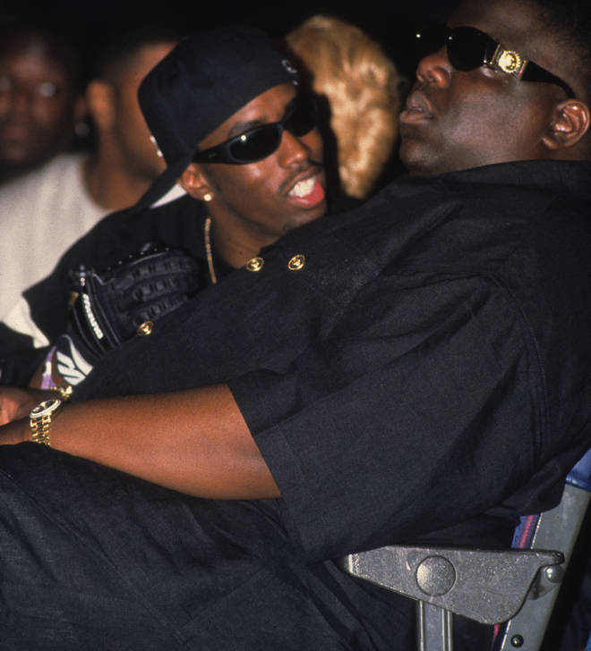 """Sean """"Puffy"""" Combs and Biggie Smalls aka The Notorious B.I.G"""