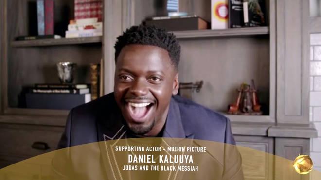 Daniel Kaluuya wins award at the 78th Annual Golden Globe Awards 2021