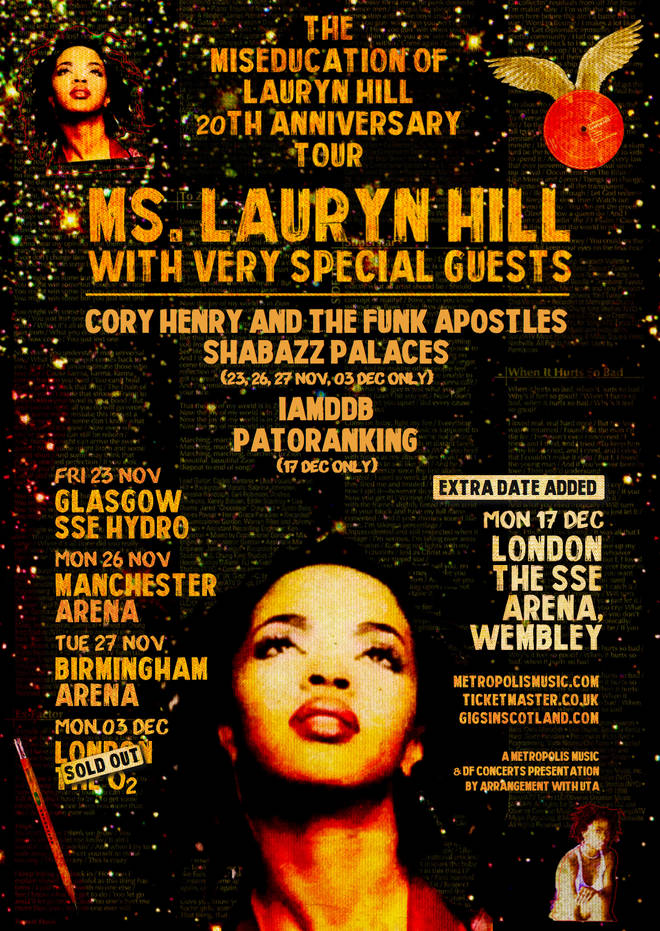 Lauryn Hill tour