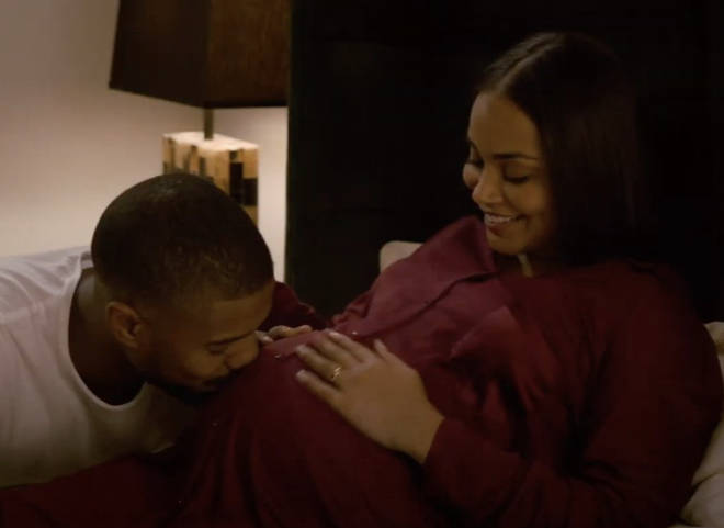 Lauren London plays Michael B Jordan's pregnant wife in 'Without Remorse'
