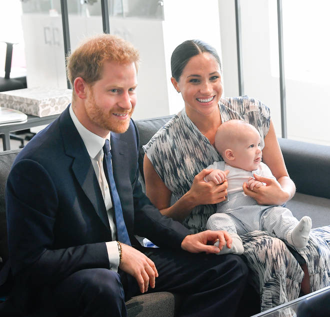 The Duchess gave birth to son Archie in May 2019. (Pictured here in September 2019).