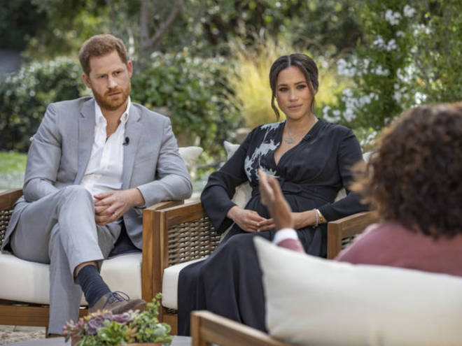 Meghan Markle and Prince Harry had a two-hour interview with Oprah about the Royal Family.
