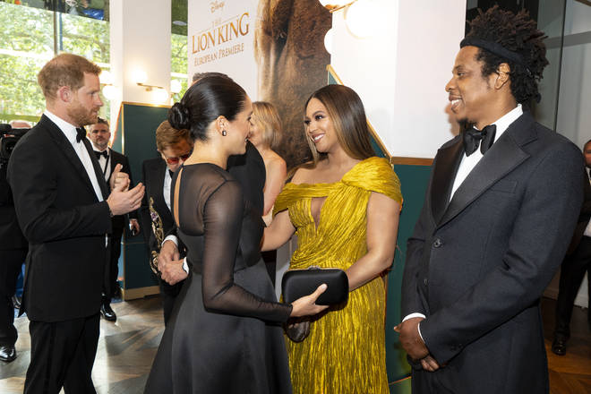 """Beyonce praised the Duchess of Sussex for her """"courage""""."""