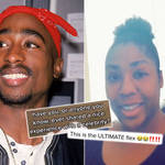 Tupac's fan has detailed the sweet interaction she had with the late artist in 1995.