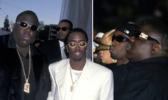 Diddy pays tribute to The Notorious B.I.G. on the anniversary of the death.