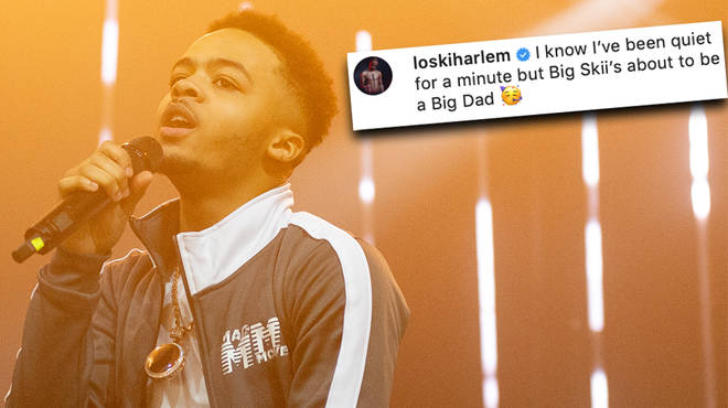 Loski announces he's expecting a baby girl