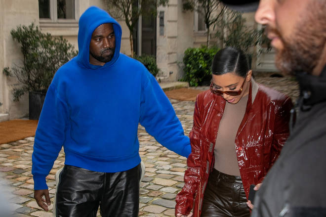 """Kanye West requests for Kim Kardashian to """"contact him through security"""""""