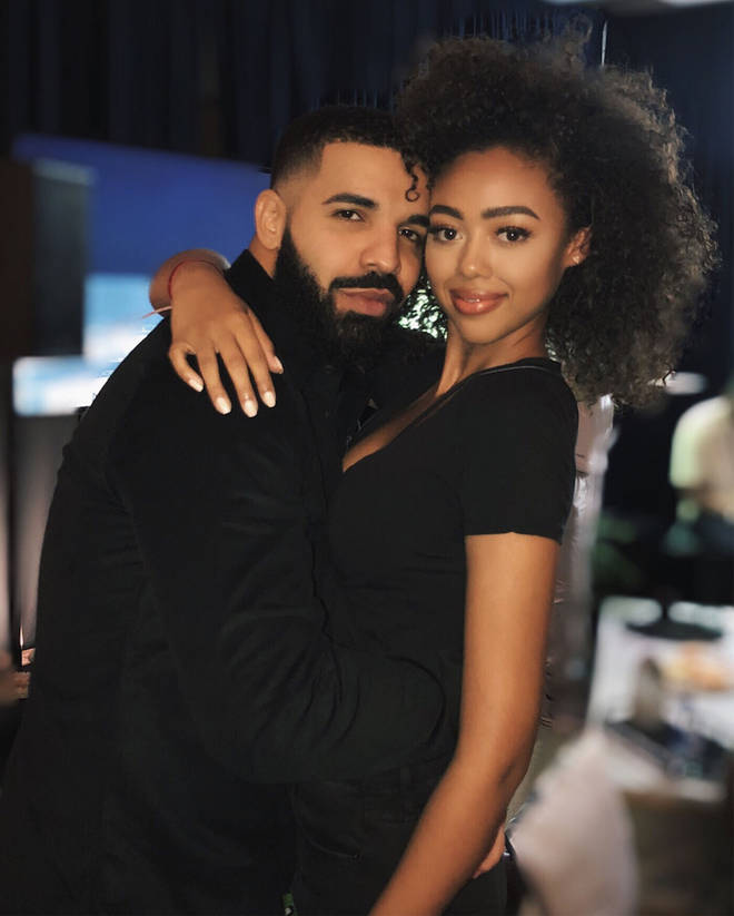 Drake was romantically linked to model Bella Harris in 2018.