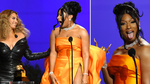 Megan Thee Stallion hilariously fangirls over Beyoncé in joint Grammy acceptance speech